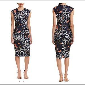 NWT Kyoto Ted Baker sheath dress print